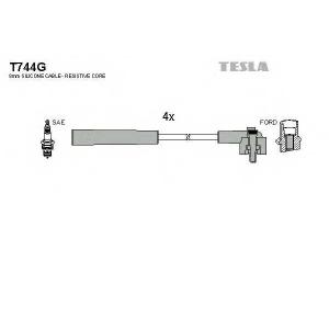 TESLA T744G Кабель зажигания, к-кт TESLA Ford escort,Fiesta,Orion 89- 1,3;1,4;1,6