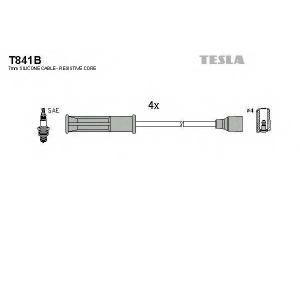 TESLA T841B Кабель зажигания, к-кт TESLA Renault 89-05 1,6;1,6e;1,6i