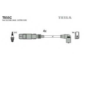 TESLA T855C Кабель зажигания, к-кт TESLA
