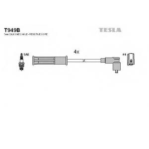 TESLA T949B Кабель зажигания, к-кт TESLA Renault Kangoo,Laguna,Megane 1,4;1,6 97-
