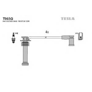 TESLA T965G Кабель зажигания, к-кт TESLA Ford Fiesta 05- 2,0, Mondeo III 00- 1,8;2,0