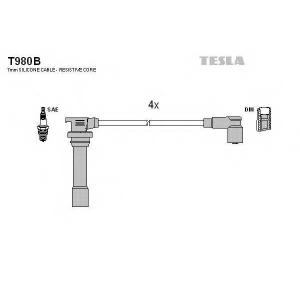 TESLA T980B Кабель зажигания, к-кт TESLA Mazda 323 94-98 1,5 Z5-DE