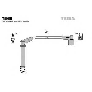 TESLA T996B Кабель зажигания, к-кт TESLA Opel Astra F, Corsa 91-00 1,2;1,4;1,6