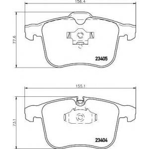 TEXTAR 2340404 Тормозные колодки дисковые