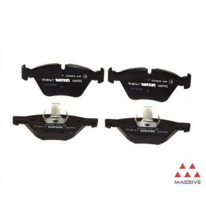 Комплект тормозных колодок, дисковый тормоз 2344702 textar - BMW 7 (E65, E66) седан 730 d