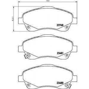 TEXTAR 2376802 Тормозные колодки дисковые TEXTAR