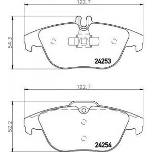 TEXTAR 2425301 Тормозные колодки
