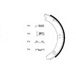 TEXTAR 91032800 Тормозные колодки барабанные TEXTAR