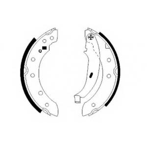 Комплект тормозных колодок 91048000 textar - CITRO?N ZX (N2) Наклонная задняя часть 1.9 D