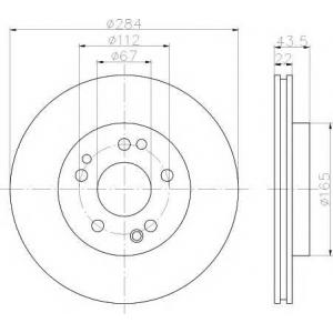 TEXTAR 92031900 Тормозной диск TEXTAR