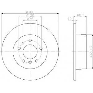 TEXTAR 92042600 Тормозной диск