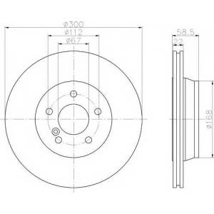 TEXTAR 92099503 Тормозной диск TEXTAR PRO