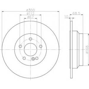 TEXTAR 92115403 Тормозной диск