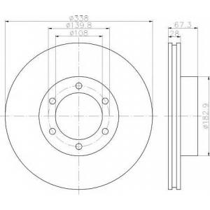 TEXTAR 92137303 Тормозной диск TEXTAR