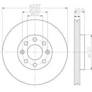 TEXTAR 92145703 Тормозной диск