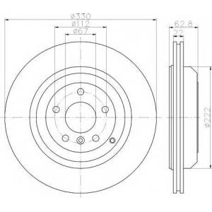 TEXTAR 92150903 Тормозной диск TEXTAR PRO