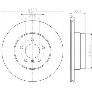 TEXTAR 92161103 Тормозной диск TEXTAR