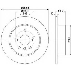TEXTAR 92174903 Тормозной диск TEXTAR PRO