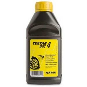 TEXTAR 95002400 Тормозная жидкость 0.5л (DOT 4) TEXTAR