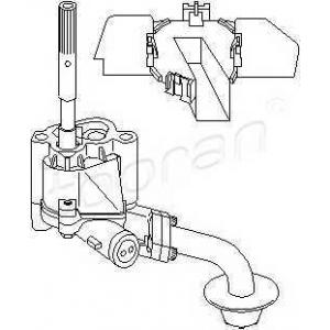 TOPRAN 100256 Oil pump
