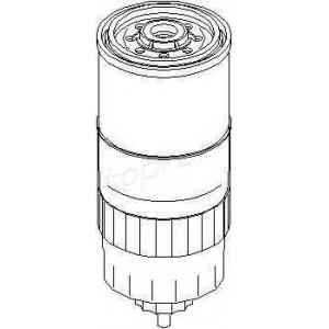 TOPRAN 100316 Фильтр топлива  100 316 756