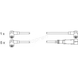 TOPRAN 100688 Ignition cable set