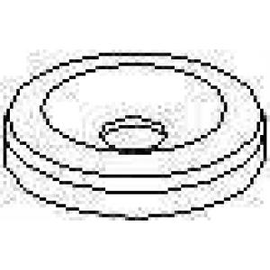 TOPRAN 101467 Уплотнительное кольцо дизельной форсунки