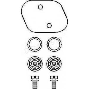 TOPRAN 101 493 К-Кт ремонт. вакуум. сервоусил. (клапаны) VW/AUDI