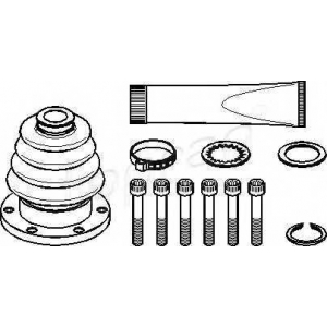 TOPRAN 102624 Half Shaft Boot Kit