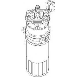 TOPRAN 102928 Fuel pump (outer)