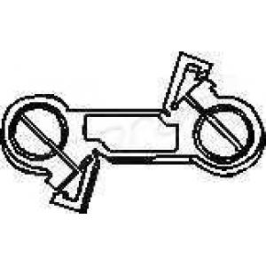 TOPRAN 103 078 Шток вилки переключения передач