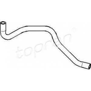 TOPRAN 103450 Water pipe