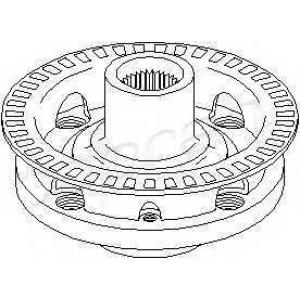 TOPRAN 103477 Ступиця колеса