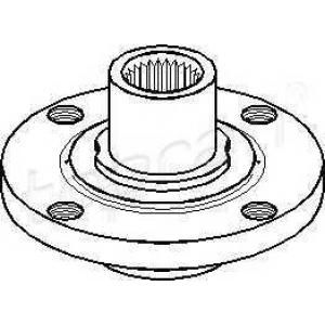 TOPRAN 103667 Hub bearing kit