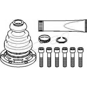 TOPRAN 103688 Half Shaft Boot Kit