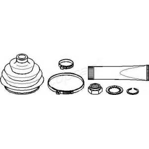 TOPRAN 104269 Half Shaft Boot Kit