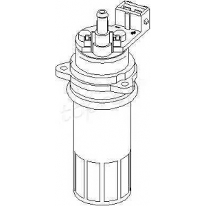 TOPRAN 107297 Fuel pump (outer)