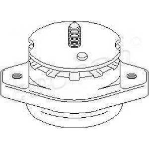TOPRAN 107403 Подвеска, ступенчатая коробка передач