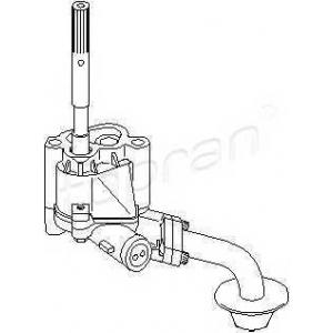 TOPRAN 107630 Oil pump