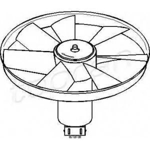 TOPRAN 107723 Fan