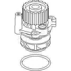 TOPRAN 107830 Water pump