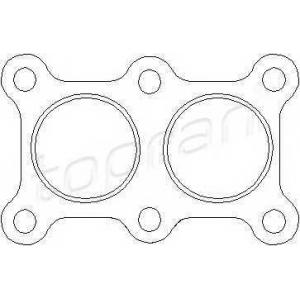 TOPRAN 108180 Exhaust seal