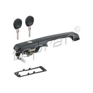 TOPRAN 108 485 Ручка передня права VW Passat 88-