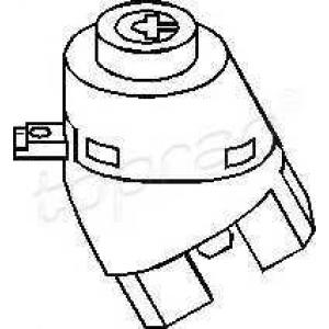 108511 topran Переключатель зажигания VW LUPO Наклонная задняя часть 1.2 TDI 3L