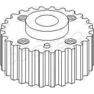 TOPRAN 108698 Gear
