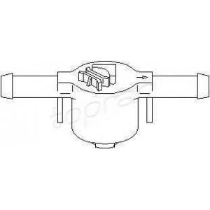 TOPRAN 109 069 Клапан, топливный фильтр