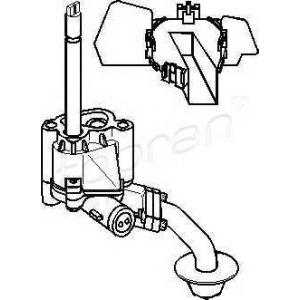 TOPRAN 109180 Oil pump