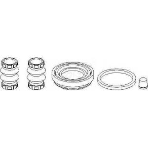 TOPRAN 109969 Brake caliper repair kit