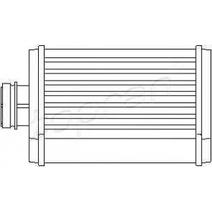 TOPRAN 109979 Heater radiator