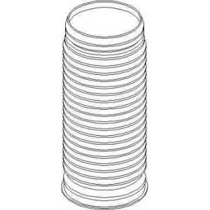 TOPRAN 110 153 Защитный колпак / пыльник, амортизатор